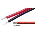 Cables Paralelos Estañados AWG20 2X0.75x150mm
