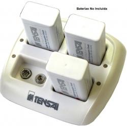 Cargador de Bateria de 9v, (8.4V o 9.6V) NiCd-NiMh