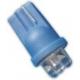 LED T10 4 Led 12v Azul