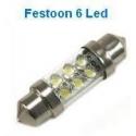 Festoon 6 Led 12v 36mm