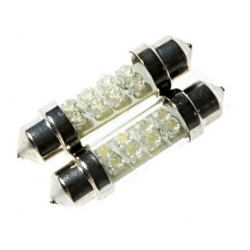 Festoon 8 LED 12v 41mm