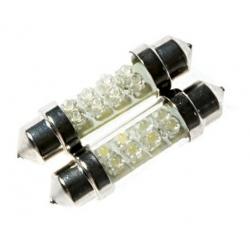 Festoon 8 LED 12v 41-42mm