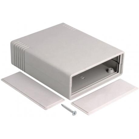 Caja de ABS de 91x111x35mm con tapas desmontables