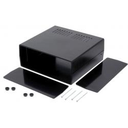 Caja de montaje con frontis 237x218x92mm