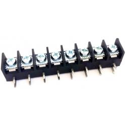 Bornas paso 10mm doble Acodado pin 20A