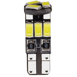 Bombilla LED T10 Canbus 9 Led 5630 SMD 12v. Blanco