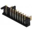 Conectores placa-placa 2.5mm 8pin