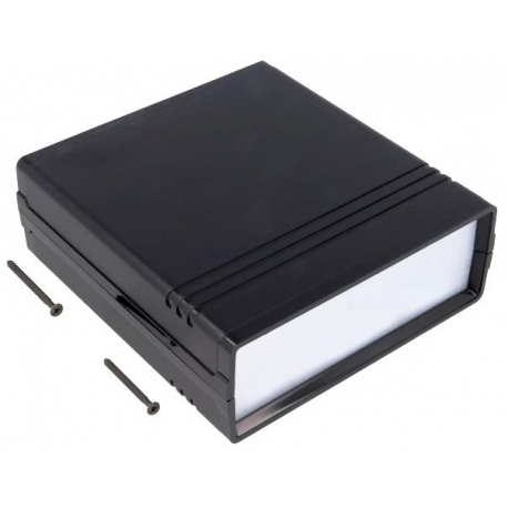 Caja de montaje con frontis de 134x129x47mm