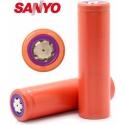 Baterías de Litio Sanyo UR18650ZM2 3.6v.2550mAh, 8A