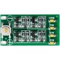 Medidor de Capacidad 3S para Baterías de Litio con 4 led SMD