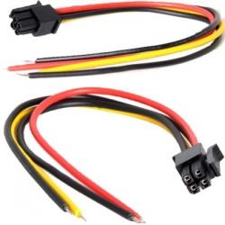 Conectores Cableados Molex MX430 MicroFit 4Pin