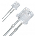 "Leds Superbrillo 5mm Cabeza plana ""Flat Top"""