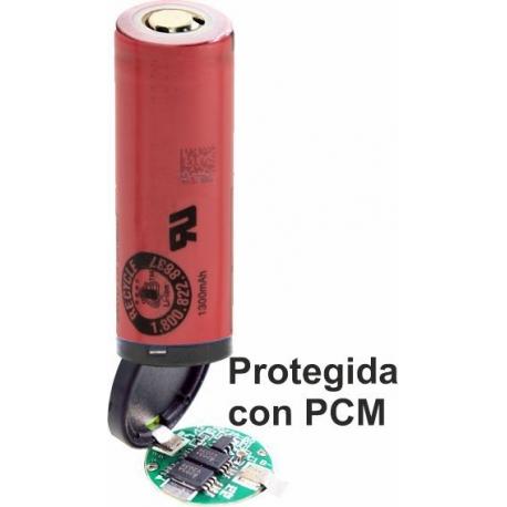Bateria Litio Sanyo UR18500Y 3.7v 1.300mA