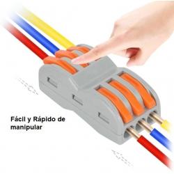 Conector rápido de palanca