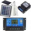 Controlador de Carga para Baterías de Placas Solares 12-24v 30, 40, 60A