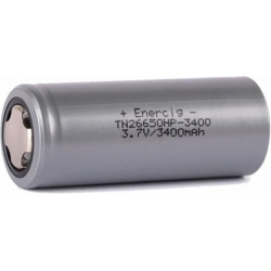 Baterías de Litio 26650 3.7v 3.400mA Enercig