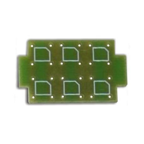 Circuitos Impresos para 6 Led Superflux