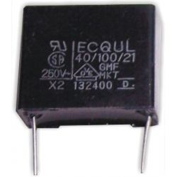 Capacitor 220nF 275v X2