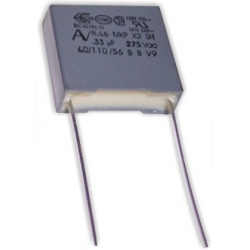Capacitor 330nF 275v X2 18x18x6mm