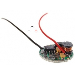 Driver regulador de corriente para LED CREE 3-18v 5w
