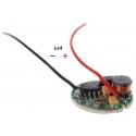 Regulador de corriente 1 modo LED CREE 3-18v.1A 17mm