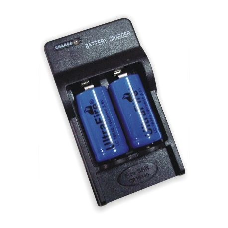 Cargadores Baterias Litio 16340