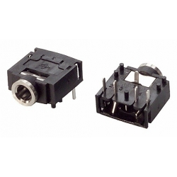 Conectores Jack 3.5mm Hembra Stereo J128