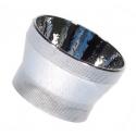 Reflector Aluminio 18x12mm para Led Cree