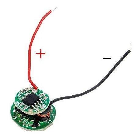 Driver regulador de corriente para LED 1~3v 5 modos
