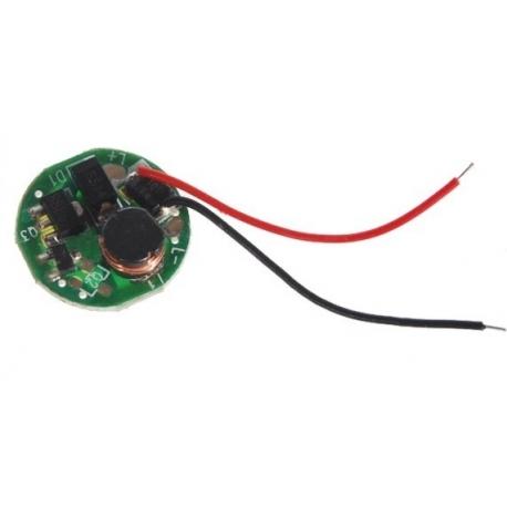 Driver regulador de corriente para LED 3v 2.5w