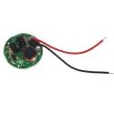 Regulador para led-1 modo 3v 2.5w 15mm