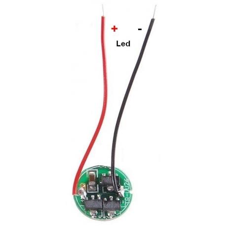 Driver regulador de corriente para LED 5518-2.7-6v 3w