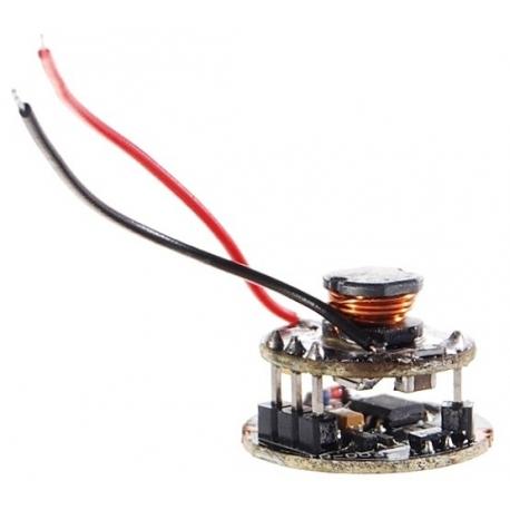 Driver regulador de corriente 5516 p/LED CREE-P4 5~12v 3 modos