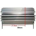 Disipadores Térmicos de Aluminio Star tubular