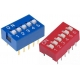 Switch Mini Dip circuito impreso 6 circuitos
