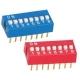 Switch Mini Dip circuito impreso 8 circuitos