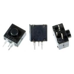 Interruptor Pulsador Vertical 3pin On-Off