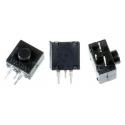 Interruptor cuadrado vertical 3pin On-Off de pulsador