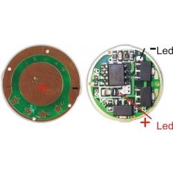 Driver regulador de corriente 6190 para CREE-P4 3w.2.7~7v 5 modos