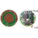 Regulador 5 modos para Led Cree 1A-3w-2.7~6v