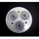 Reflector-Lente MultiLed de 50mm Prisma