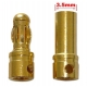 Conector Power 3.5mm Gold Plate