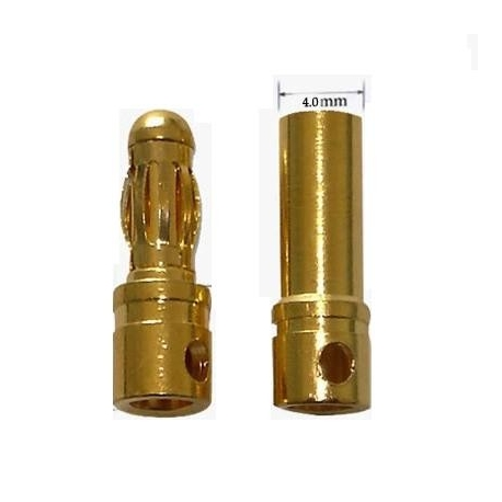 Conector Power 4-5.5mm Gold Plate