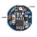 Driver de corriente F1B5 para LED 1.050mA.3.6~4.8v 5 modos 17mm