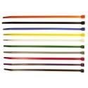 Bridas de 100mm de polyamida 6.6 de colores