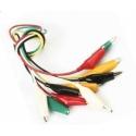 Pinzas Cocodrilo con cables de 400mm