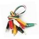 Cables de prueba con pinzas cocodrilo