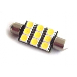 Festoon 12 LED 5050 SMD de 39mm