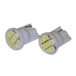 Bombillas T10 de 8 Led SMD 1210-3528