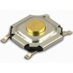Pulsador Tact Switch SMD de 6x6x1.7mm